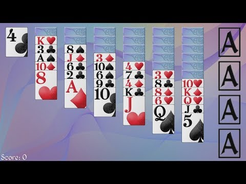 How to Play Russian Easy Solitaire