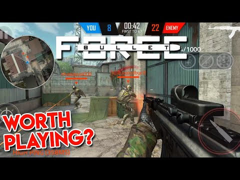 Bullet Force First Impressions [Android Gameplay Walkthrough]