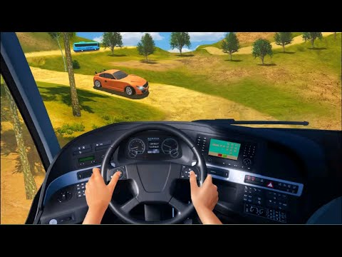 Bus Simulator Ultimate Parking || Offroad Bus Driving Android Gameplay