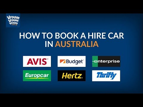 How to book a hire car in Australia