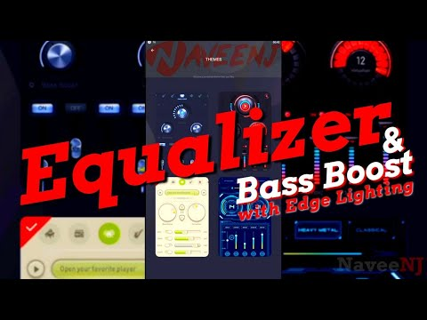 Equalizer & Bass Boost with Edge Lighting