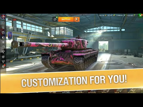 World of Tanks Blitz PVP MMO 3D tank game for free || (Game play 2021) 1080p | Universal Gaming