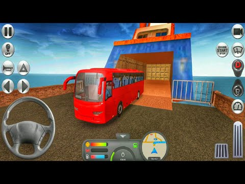 Coach Bus Simulator #1 | Android GamePlay | Android Bus Game