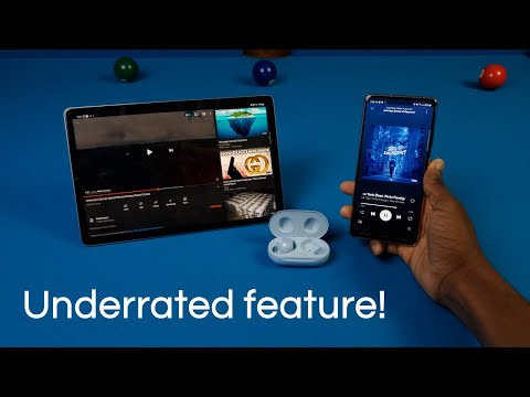 Trying the Galaxy Buds Auto Switching Feature! (and How to Use It)