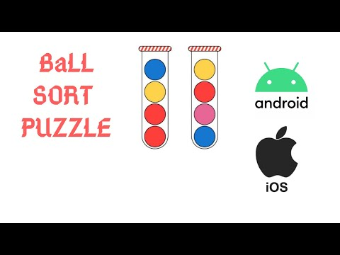 Ball Sort Puzzle || New Puzzle Game || Android and IOS puzzle game