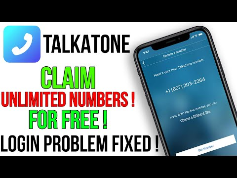 How to Get Unlimited FREE Numbers in Talkatone App | Talkatone Login Problem Fixed | Fake Whatsapp