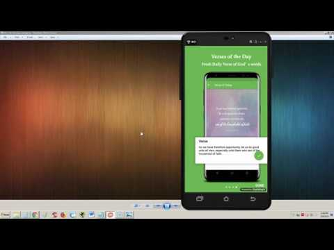 Offline King James Audio Bible Mobile ANDROiD App Review and Tutorial
