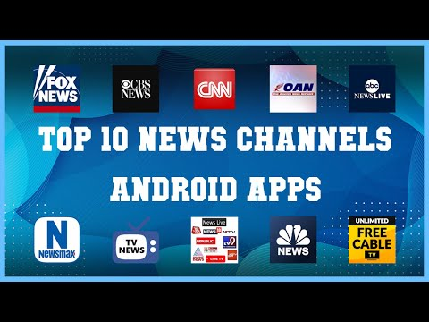 Top 10 News Channels Android App | Review