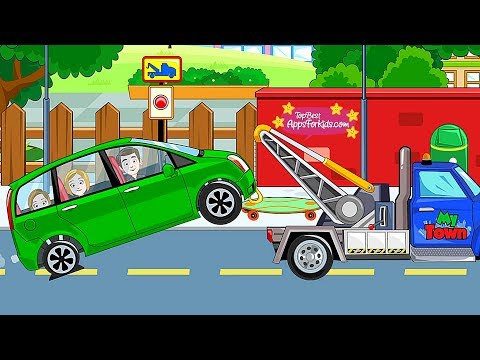 My Town Car: Buy, wash, repair Cars 🚗 Top Best Apps For Kids