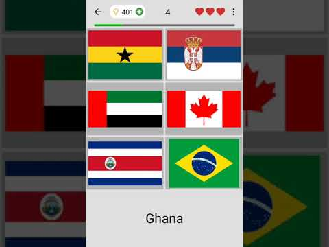 Geography App to Learn Flags and Capitals