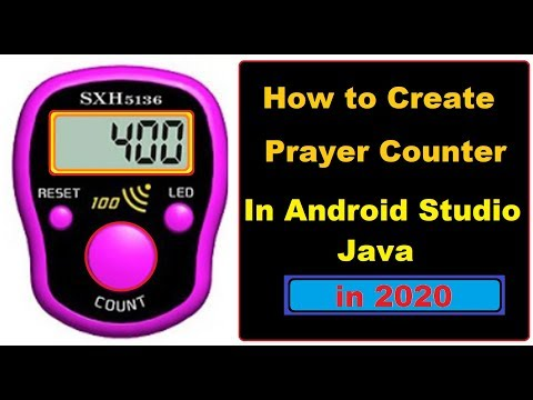 How to Make Prayer Counter in Android Studio in Hindi
