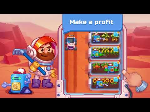 video review of Idle Mars Colony