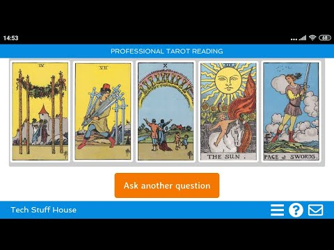 Professional Tarot Reading for Android - 78 Cards with Reversals