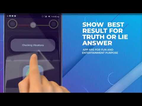 Testing the Lie Detector Android App! TRYING A LIE DETECTOR!!