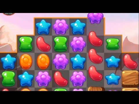 Cookie Crush Match 3 best jelly gameplay with best cookies