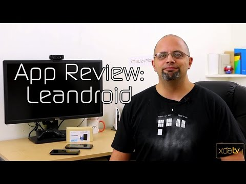 video review of LeanDroid