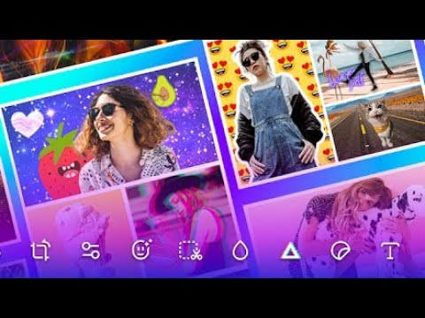 How to Use Picture Editor Pro - PicPlus Android 2020