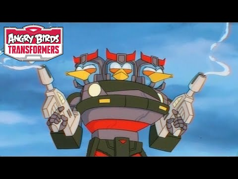 video review of Angry Birds Transformers