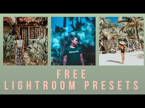 How to install and use FREE Lightroom mobile presets