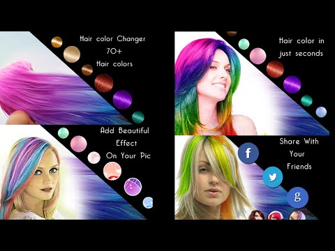Android app for Change Hair Color of your photos