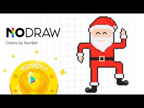 No.Draw -Color by Number | Pixel Art Drawing | Kids Coloring Game (iOS & Android)