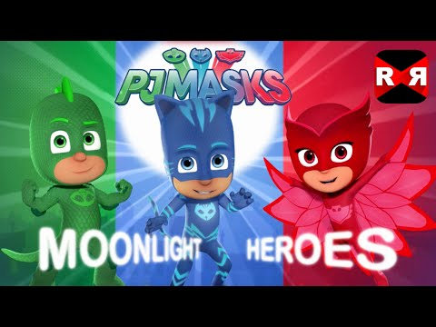 PJ Masks Moonlight Heroes - iOS / Android - Gameplay Review
