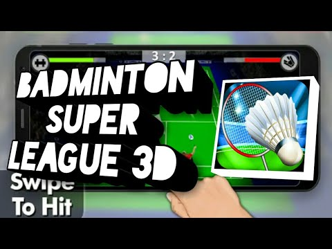 Badminton Super League 3D (Android Gameplay)