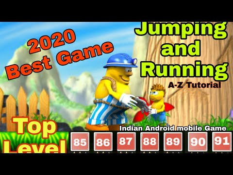 Incredible Jack Android Mobile Game And Tutorial Level 1,2,3,4,5,7 Jumping and Running 🎯 #ONTRCH