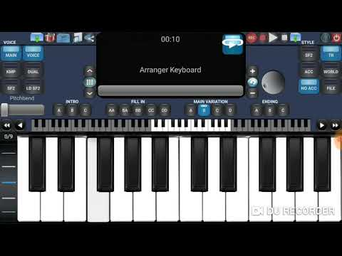 Fikrimin Ince Gulu Performance with Arranger Keyboard (Android)