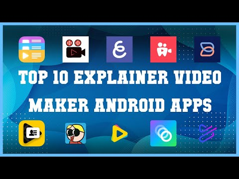 Top 10 Explainer Video Maker Android App | Review