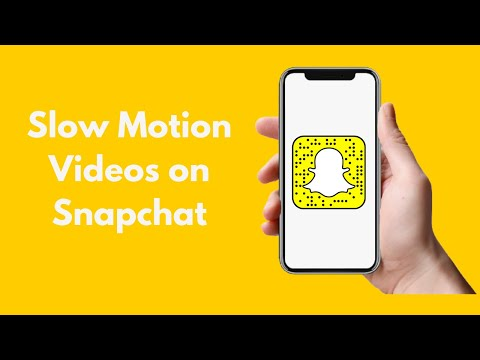 How to Put Videos in Slow Motion on Snapchat (2021)
