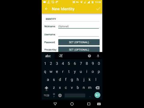 How to use ssh on android (JuiceSSH)