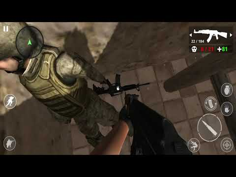 Desert War FPS Action Shooting Games Android Gameplay