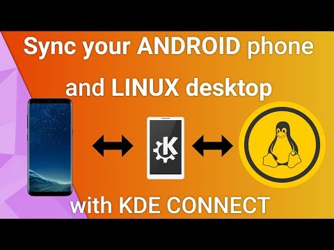 Sync your Android phone with Linux using KDE Connect