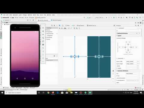 How to build the Hello World App in Android Studio   Beginners Guide 2020