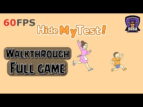 Hide My Test: All Stage , iOS/Android Walkthrough By (Eureka Studio)