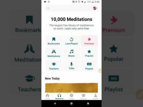 How to use the Insight Timer app for meditation