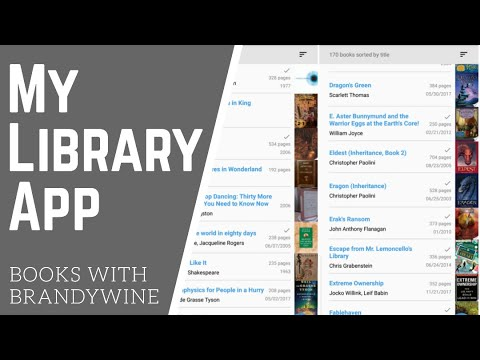 My Library app / Books with Brandywine ep 6