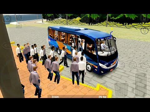 Proton Bus Road Lite - Nsenior Bus Driving - Android Gameplay FHD
