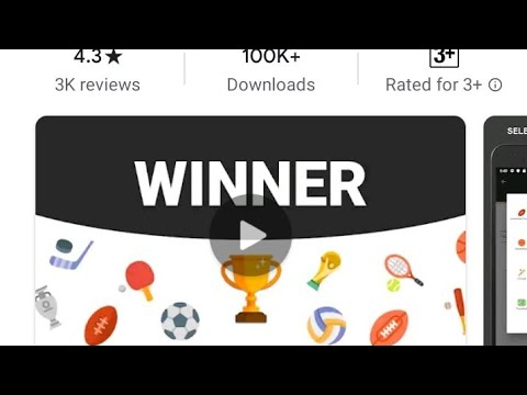 How to create Football tournament from Winner app