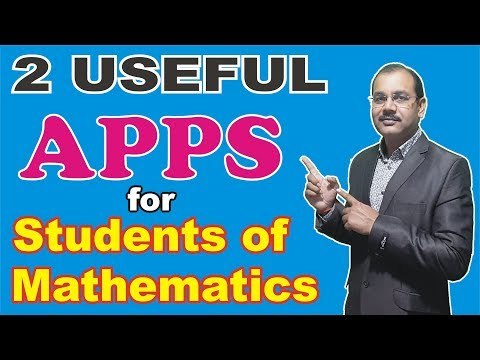 Useful Free Apps which can help for Maths Students
