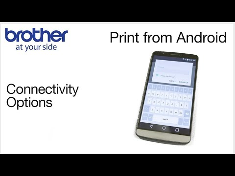 Printing from Android device on your Brother printer