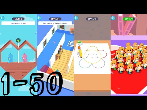 Care Bears: Pull the Pin | LVL1-50 [ Android ] Gameplay Walkthrough and showing game's features