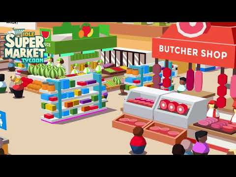 video review of Idle Supermarket Tycoon