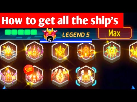 INFINITY SHOOTING Galaxy War All Best Ships with Max Level Evolution, Android, ios