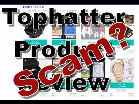 Tophatter Review: Scam? Crappy products? YOU DANG RIGHT!