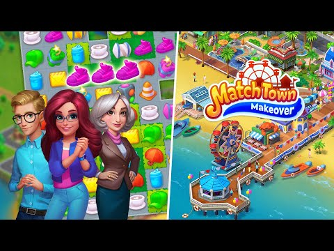 video review of Match Town Makeover・Town Renovation Match 3 Puzzle