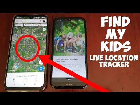 FIND MY KIDS Application |Track Missing Childs Location|Listen In On Their Location|Sound OFF Alarm