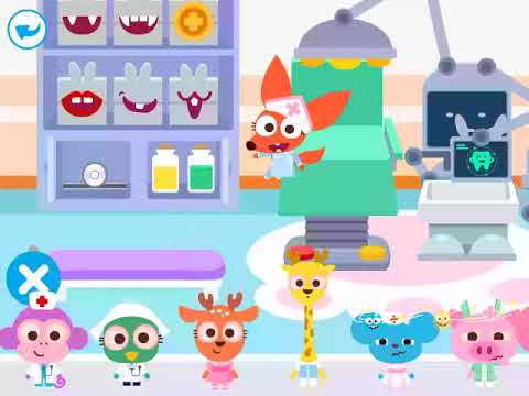 Best kids play house app from Purple Pink - Papo Town Hospital Full Version