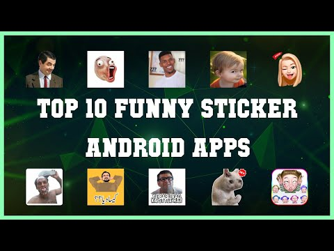 Top 10 Funny Sticker Android App | Review